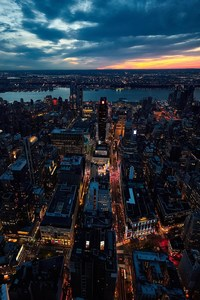 240x400 Sunset New York City