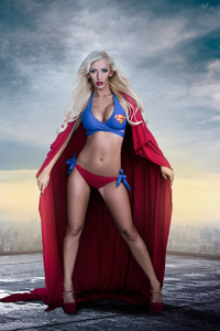 480x854 Supergirl Cosplay