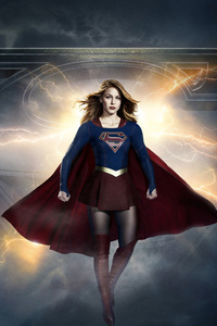 1280x2120 Supergirl Season 3 Poster