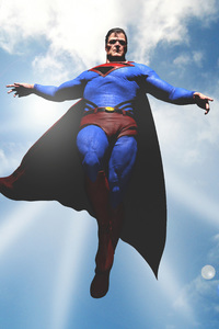 640x960 Superman 5k Art