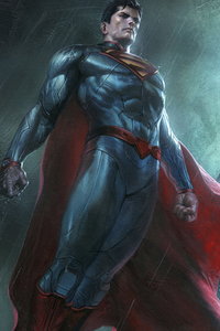 240x320 Superman And Batman Dc Comics Superheroes Artwork