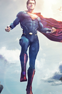 1080x2160 Superman Arts 4k