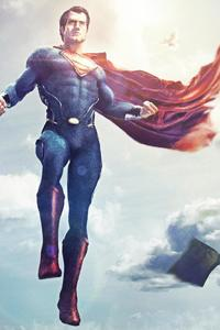 320x480 Superman Justice League Fan Artwork