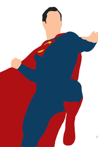 Superman Justice League Minimalism