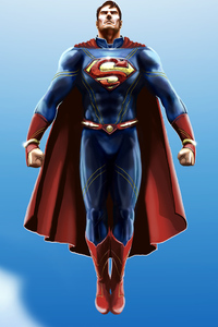 1242x2688 Superman Latest New Art