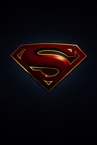 640x1136 Superman Logo 10k