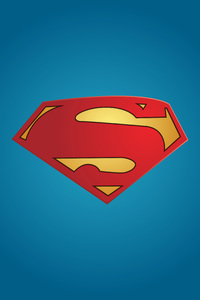 720x1280 Superman Logo Minimal