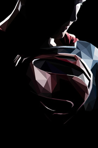 640x960 Superman Portrait