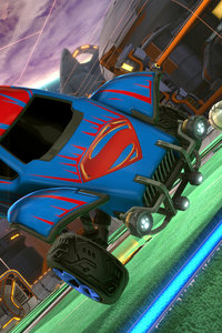 640x960 Superman Rocket League Dlc 4k