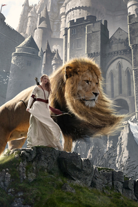 640x1136 Susan And Aslan The Chronicles Of Narnia Extended