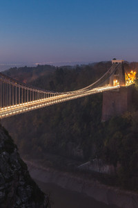 320x480 Suspension Bridge Uk England