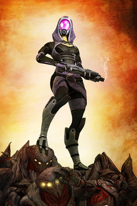 Tali Mass Effect