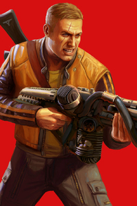Terror Billy Wolfenstein II The New Colossus