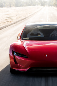 Tesla Roadster Front Look