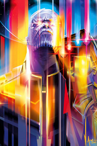 1125x2436 Thanos Avengers Infinity War 2018 Empire