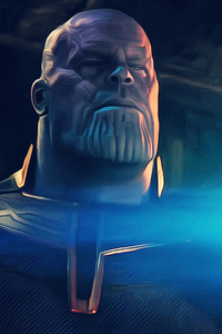 1280x2120 Thanos Breaking Tesseract Avengers Infinity War 2018