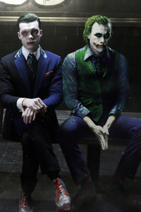 1440x2960 The 3 Jokers Leto Monaghan And Ledger