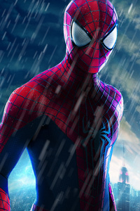 750x1334 The Amazing Spider Man Closeup
