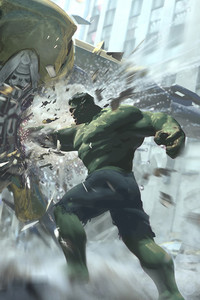 The Avengers Leviathan Vs Hulk