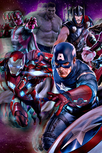 360x640 The Avengers Marvel Comics