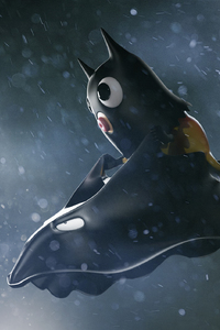640x1136 The Batman And His New Creation