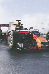 The Crew 2 Red Bull F1 Car 4k