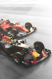 800x1280 The Crew 2 Red Bull F1 Cars 4k
