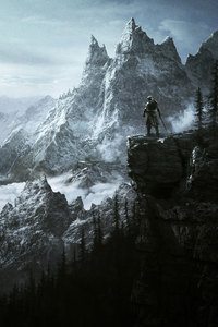2160x3840 The Elder Scrolls V Skyrim Vista