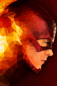 240x320 The Flash Abstract Artwork