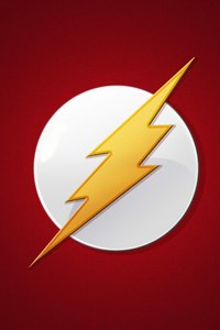 720x1280 The Flash Logo