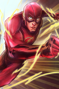 360x640 The Flash Running