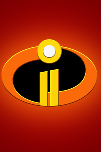 The Incredibles 2 Logo 4k