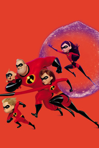 640x960 The Incredibles 2 Movie Poster 4k