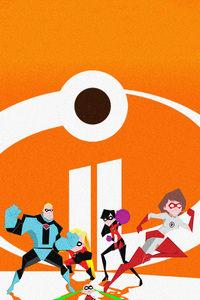 720x1280 The Incredibles 2 Poster Artwork