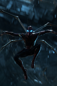 The Iron Spider Stretches His Legs In Avengers Infinity War