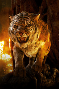1125x2436 The Jungle Book Tiger 5k