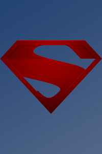 1080x1920 The Man Of Steel Logo