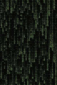 The Matrix Typography