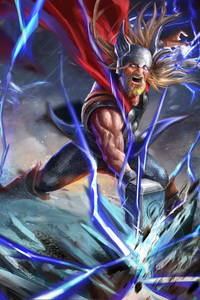 480x800 The Old God Of Thunder