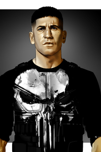360x640 The Punisher Artwork