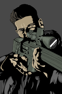 The Punisher Fanart 4k