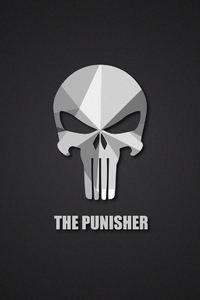 The Punisher Material Logo