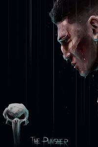 480x854 The Punisher Netflix Poster 4k
