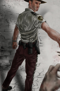 1440x2560 The Walking Dead 10k Artwork