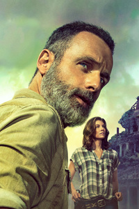 1280x2120 The Walking Dead Season 9 2018