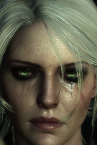 1080x1920 The Witcher 3 Ciri 10k