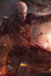 The Witcher 3 Geralt Fanart