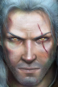 The Witcher 3 Geralt Of Rivia Art
