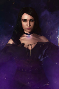 480x800 The Witcher 3 Wild Hunt Yennefer Of Vengerberg Cosplay