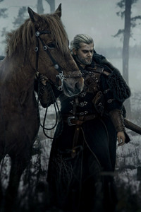 The Witcher Geralt of Rivia Cosplay
